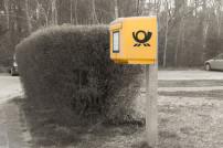 Briefkasten der Deutschen Post