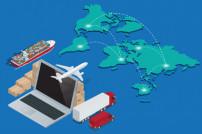 Globales Logistik Netzwerk