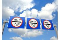 Schilder Autobahnmaut