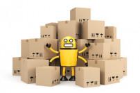 Die Logistik setzt immer stärker auf Roboter.