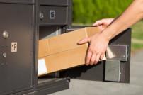 Paket im Briefkasten