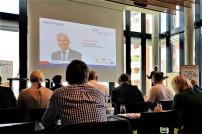 Prof. Dr. Peer Witten, Vorstand der Logistik-Initiative Hamburg, auf der Jahreskonferenz der LIHH