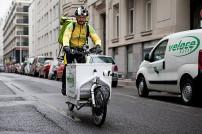 Veloce Kurier auf E-Bike