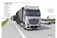 Daimler will Lkw vernetzen.